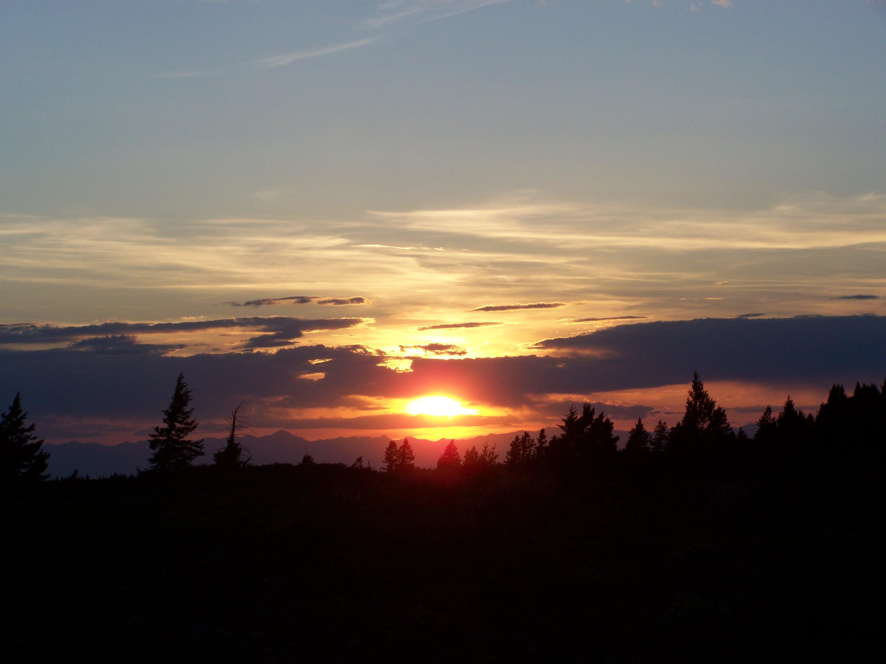 Sunset Kelly Mountain